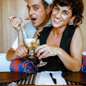 Chefs Paula Casanovas e Felip Planas
