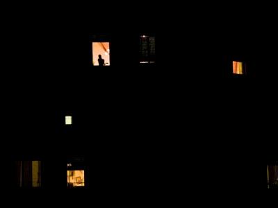 Girl at window 01