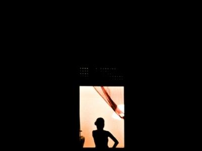 Girl at window 02