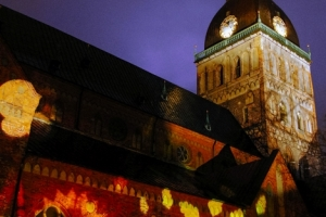 Dome square   Light festival